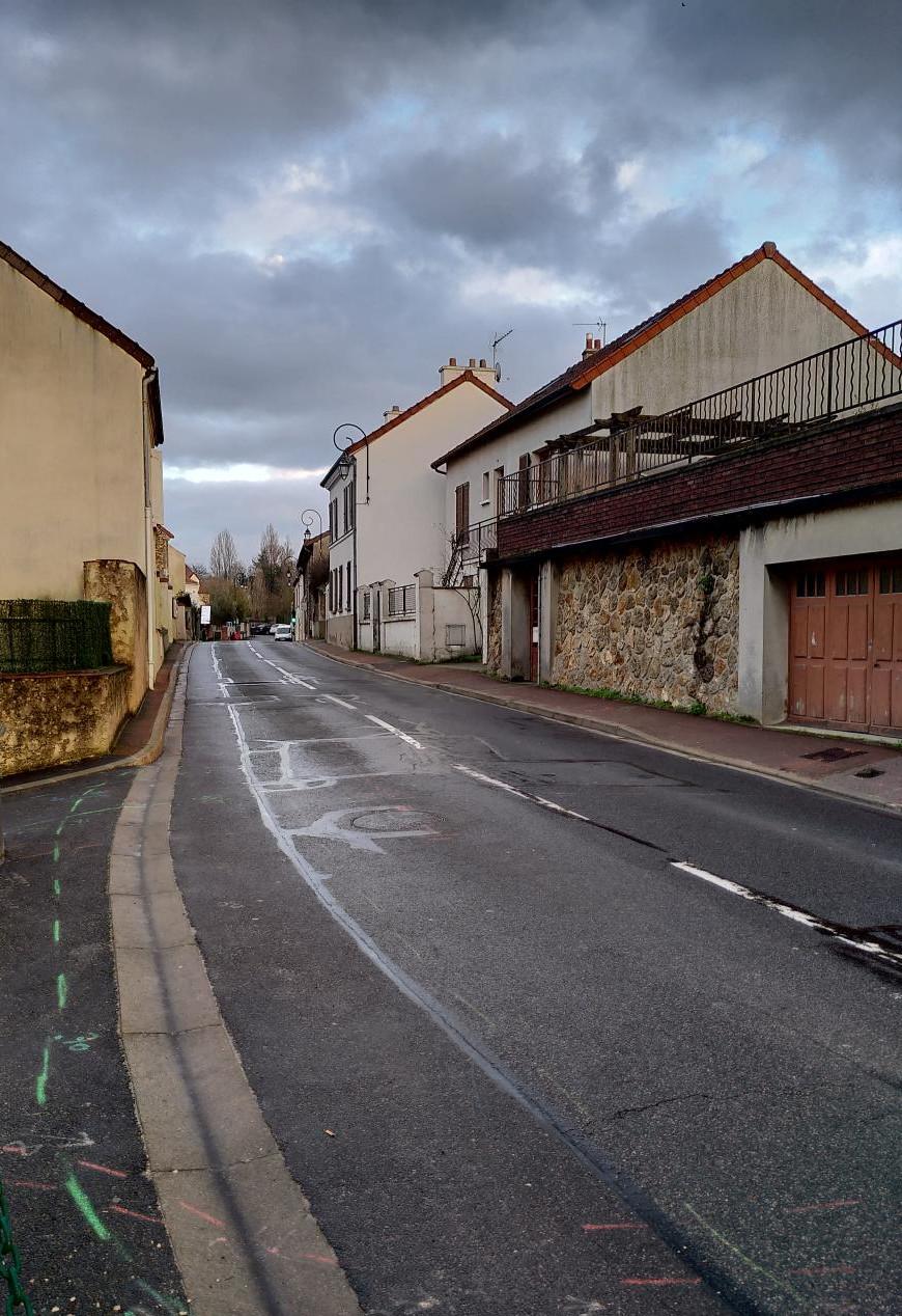 Rénovation de la rue de Maraîchers